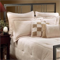 Hillsdale Tiburon Spindle Headboard in Magnesium Pewter
