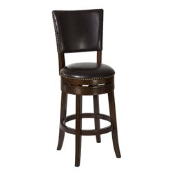 Hillsdale Sonesta Counter Stool in Brown Cherry