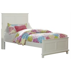 Hillsdale Bailey Panel Bed in White