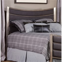 Hillsdale Montego Upholstered Panel Headboard with Rails