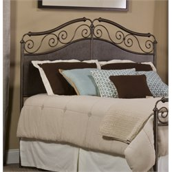 Hillsdale Ravella Upholstered King Metal Spindle Headboard