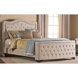 Hillsdale Trieste Upholstered California King Storage Panel Bed