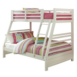 Hillsdale Bailey Twin Over Full Bunk Bed in White