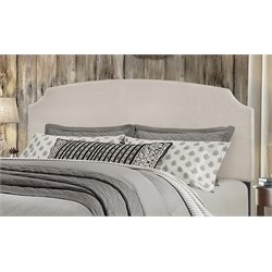 Hillsdale Desi Upholstered Panel Headboard in Fog