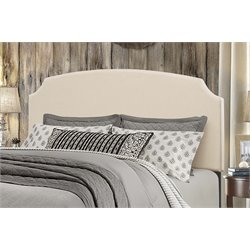 Hillsdale Desi Upholstered Panel Headboard in Linen