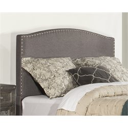 Hillsdale Kerstein Upholstered Panel Headboard in Orly Gray