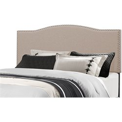 Hillsdale Kiley Upholstered Panel Headboard in Fog