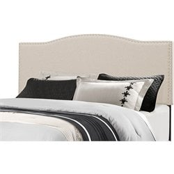 Hillsdale Kiley Upholstered Panel Headboard in Linen