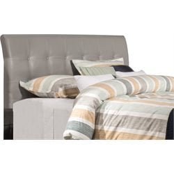 Hillsdale Lusso Faux Leather Upholstered Panel Headboard