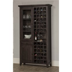 Hillsdale Tuscan Retreat Tall Wine Rack in Weathered Gray