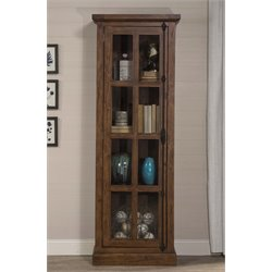 Hillsdale Tuscan Retreat Single Door Curio Cabinet