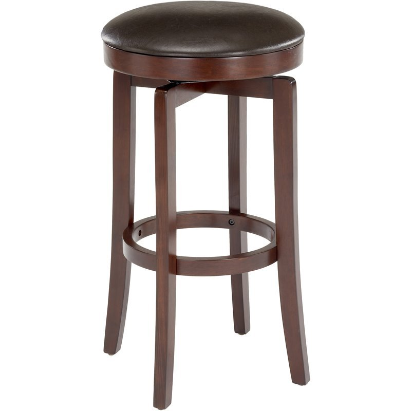 Hillsdale Malone 25 Quot Backless Swivel Counter Stool In
