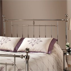 Hillsdale Holland Spindle Headboard in Nickel