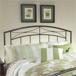 Hillsdale Morris Spindle Headboard in Pewter