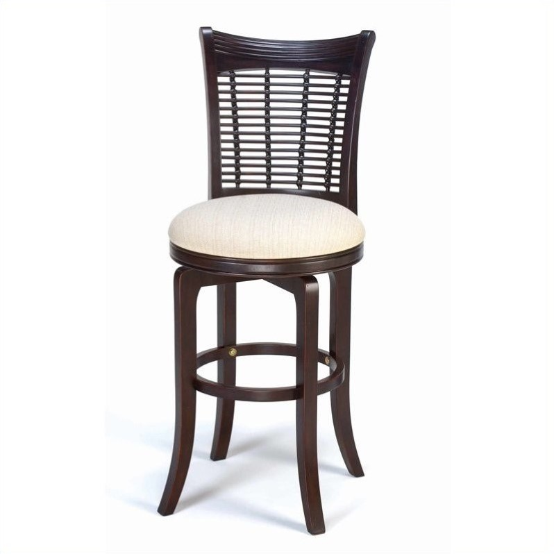 Hillsdale Bayberry 24 Quot Counter Bar Stool In Dark Cherry
