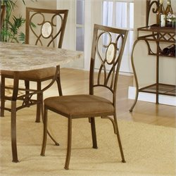 Hillsdale Brook Oval Back Fabric  Dining Chair (Set of 2)