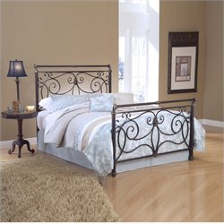 Hillsdale Brady Bed in Antique Bronze Finish