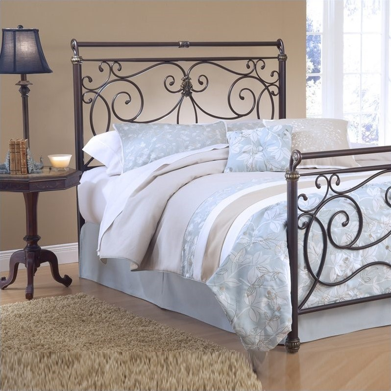 Hillsdale Brady Premium Spindle Headboard in Bronze