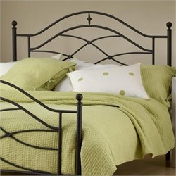 Hillsdale Cole Premium Spindle Headboard with Rails in Black