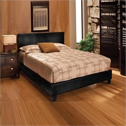 Hillsdale Harbortown Bed In Black Vinyl