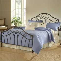 Hillsdale Josephine Bed in Metallic Brown Finish