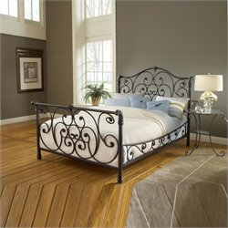 Hillsdale Mandalay Bed in Rustic Old Brown