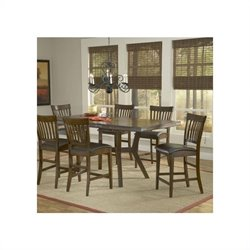 Hillsdale Arbor Hill Extension Gathering Dining Table in Colonial Chestnut