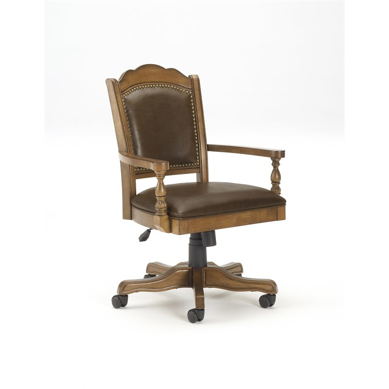 Hillsdale Nassau Arm Chair with Leather Back