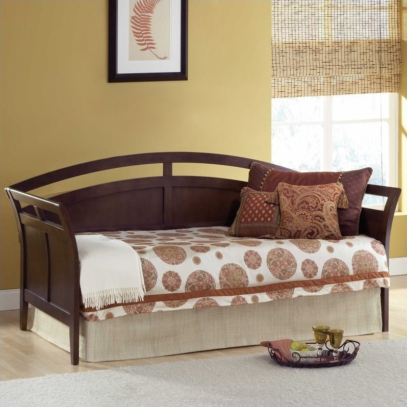 Hillsdale Watson Wood Daybed in Espresso Finish