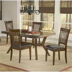 Hillsdale Arbor Hill Dining Set in Colonial Chestnut