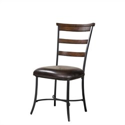 Hillsdale Cameron Ladderback Dining Chair in Chestnut Brown (set of 2)