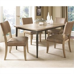Hillsdale Charleston Rectangular Dining Set with Parson Chairs