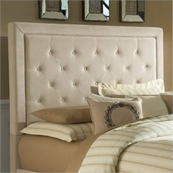 Hillsdale Kaylie Tufted Panal Headboard in Buckwheat
