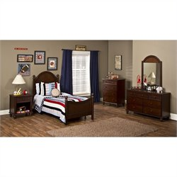 Hillsdale Westfield 4 Piece Bedroom Set in Espresso Finish