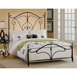 Hillsdale Caffrey Bed in Dusty Bronze Finish