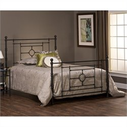 Hillsdale Cameron Bed in Bronze Finish