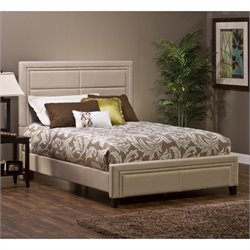 Hillsdale Kiki Bed in Ivory Colored Linen