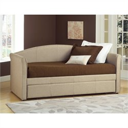 Hillsdale Siesta Daybed in Beige Fabric