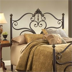 Hillsdale Newton Spindle Headboard in Antique Brown
