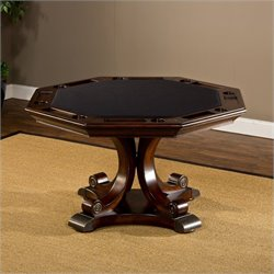 Hillsdale Harding Game/Dining Table in Rich Cherry