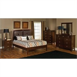 Hillsdale Metro 5 Piece Bedroom Set with Martin Platform Bed