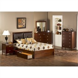 Hillsdale Metro 4 Piece Bedroom Set with Martin Storage Bed
