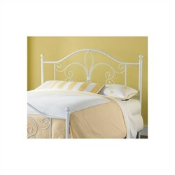 Hillsdale Ruby Spindle Headboard in White