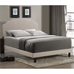 Hillsdale Lawler Bed in Cream