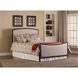 Hillsdale Bayside Upholstered Bed in Beige and Bronze