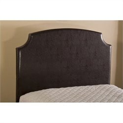 Hillsdale Lawler Panel Headboard with Rails in Brown