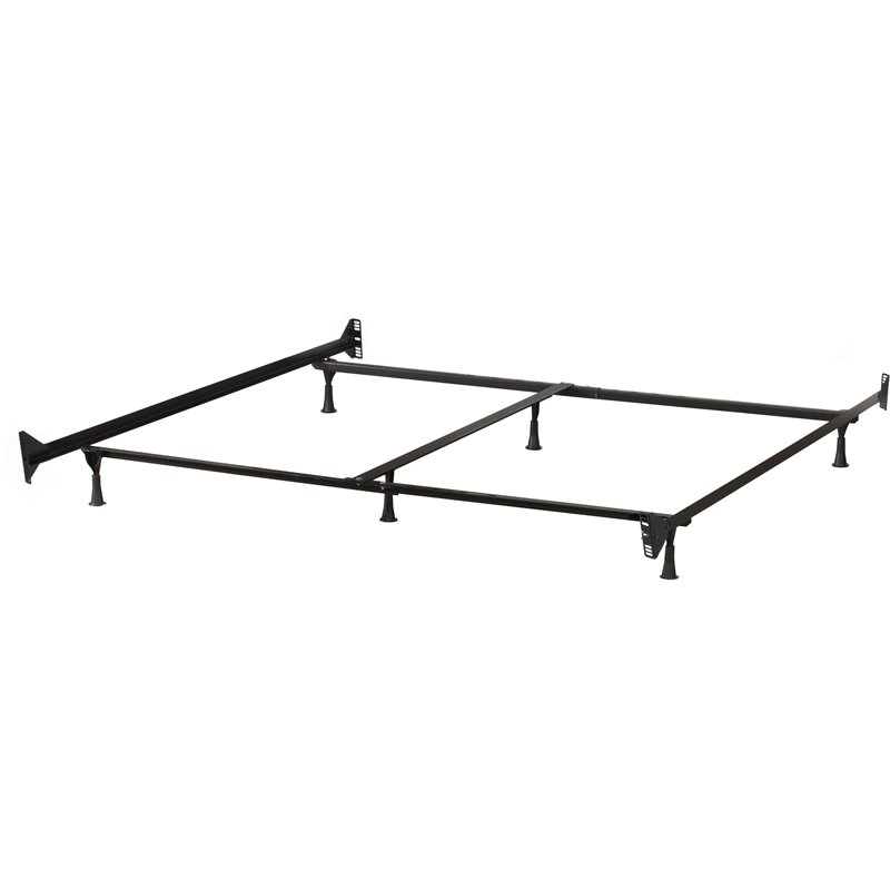 Hillsdale 6 Leg Queen and King Bed Frame
