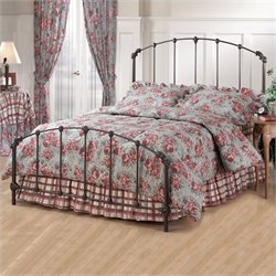 Hillsdale Bonita Metal Bed in Copper Mist Finish