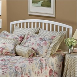 Hillsdale Carolina Slat Headboard in White Finish
