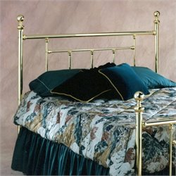 Hillsdale Chelsea Spindle Headboard in Brass